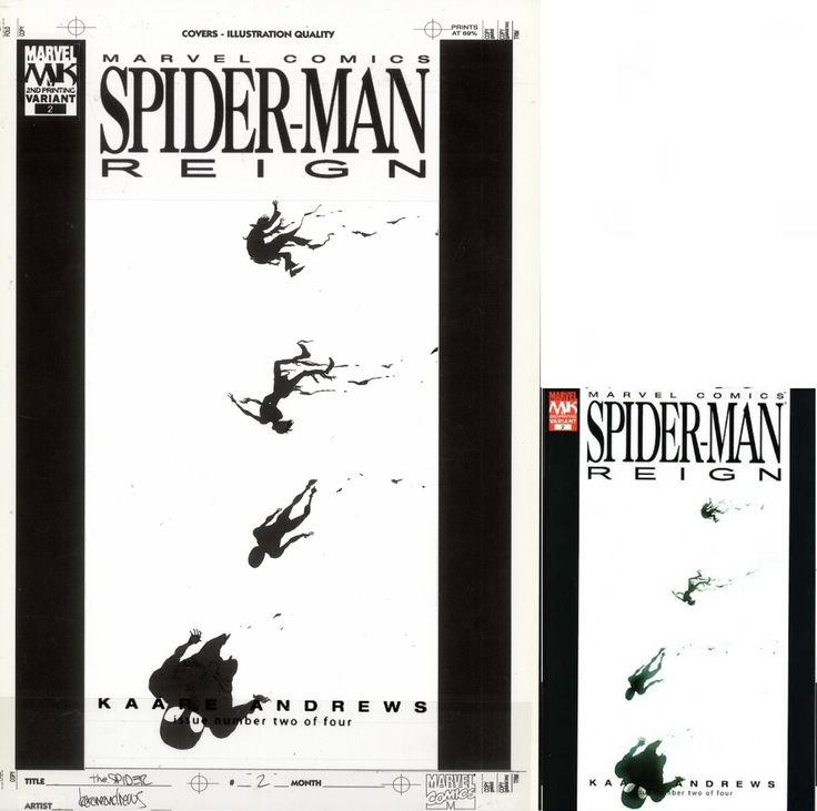 ANDREWS, KAARE - Spider-Man: Reign # 2 cover, Venom variant - W.B.