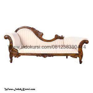 Kursi Bangku Sofa Lois Warna Silver