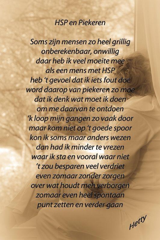 HSP en Piekeren #hsp #piekeren http://thuisinmijnlichaam.nl/