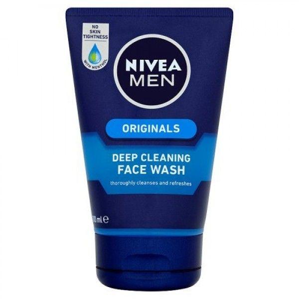 Nivea Men Originals Gel Καθαρισμού Deep Cleaning 100ml. Η αποτελεσματική σύνθεση του σε μορφή Gel είναι εμπλουτισμένη με Βιταμίνη Ε και Menthol. Αποκτήστε το από το aromania.gr μόνο με 3,90€! #aromania #NiveaMen