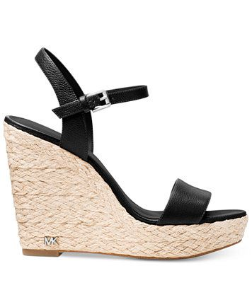 719ba647533e Image 2 of MICHAEL Michael Kors Jill Espadrille Wedge Sandals ...