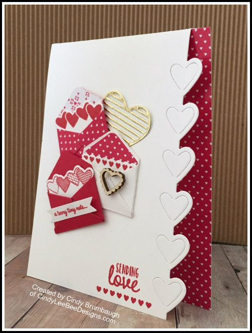 December 19, 2016 Oh…LOVE…LOVE…LOVE – that's how I feel about the NEW Stampin' Up Sealed with Love Bundle! Isn't that little wooden heart form the S…