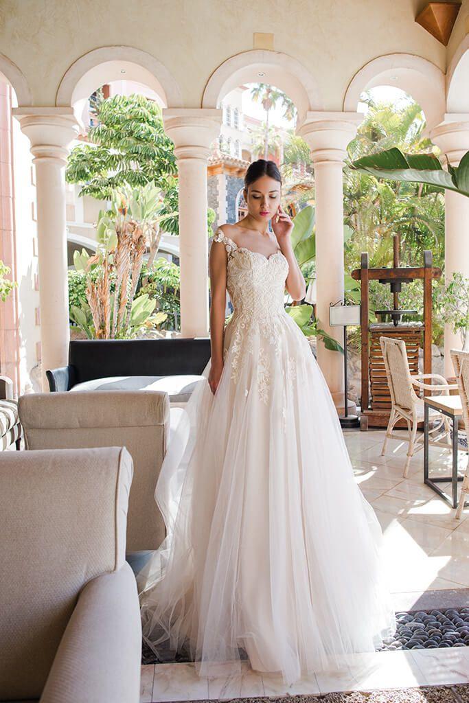 Wedding Dress By Oksana Mukha Wedding Dresses Bridal Dress Design Affordable Bridal Dresses