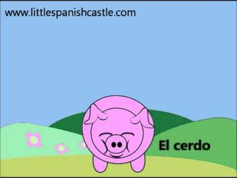 Spanish Vocabulary - Farm Animals and Sounds  Learn Spanish in Spain: programs for children, teenagers and adults: www.spanish-school-herradura.com