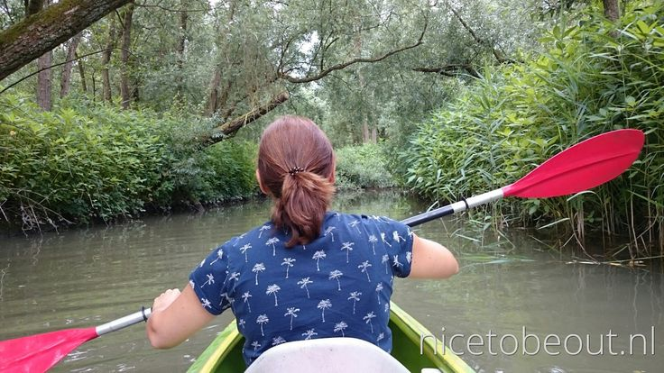 Kanoën door de Biesbosch
