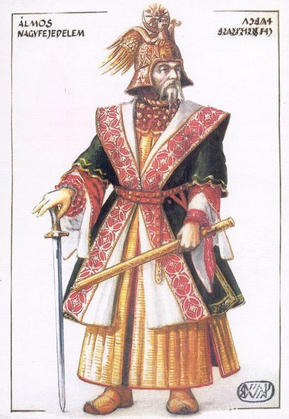 Almos, first Grand Prince of the Magyars.