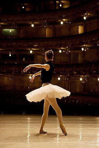 Swan lake rehearsal, Mariinsky theatre