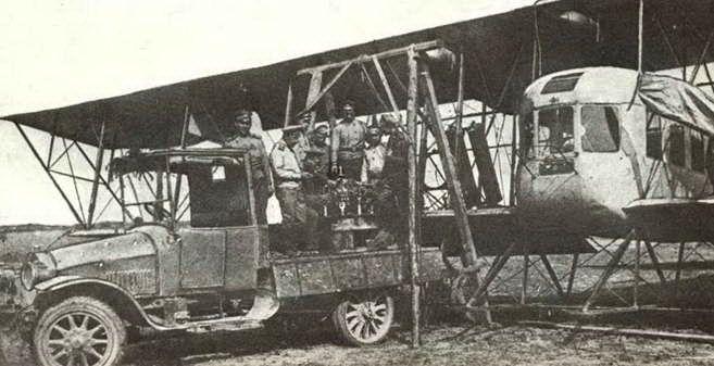 самолет Илья муромец - От северной группы до дивизиона воздушных кораблей