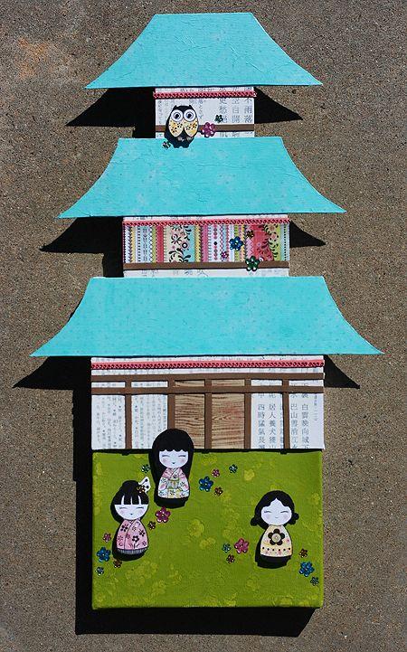 Chine pagoda craft
