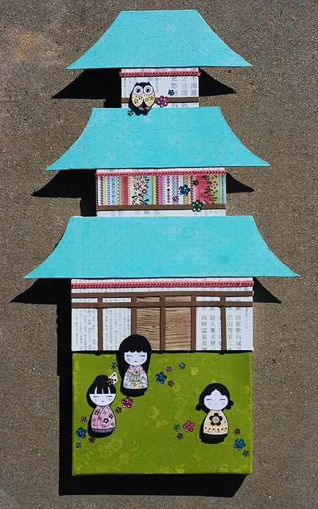pagoda craft                                                                                                                                                                                 More