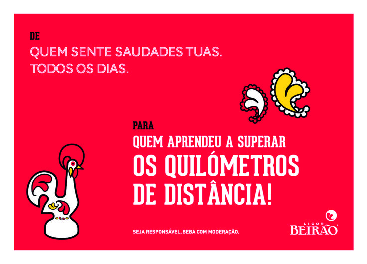 O Licor Beirão ajuda na escolha da prenda para aquela que possa de quem tanto gostas!