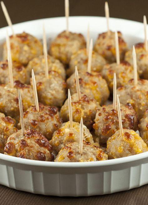Sausage Cheese Balls Linda Toomey