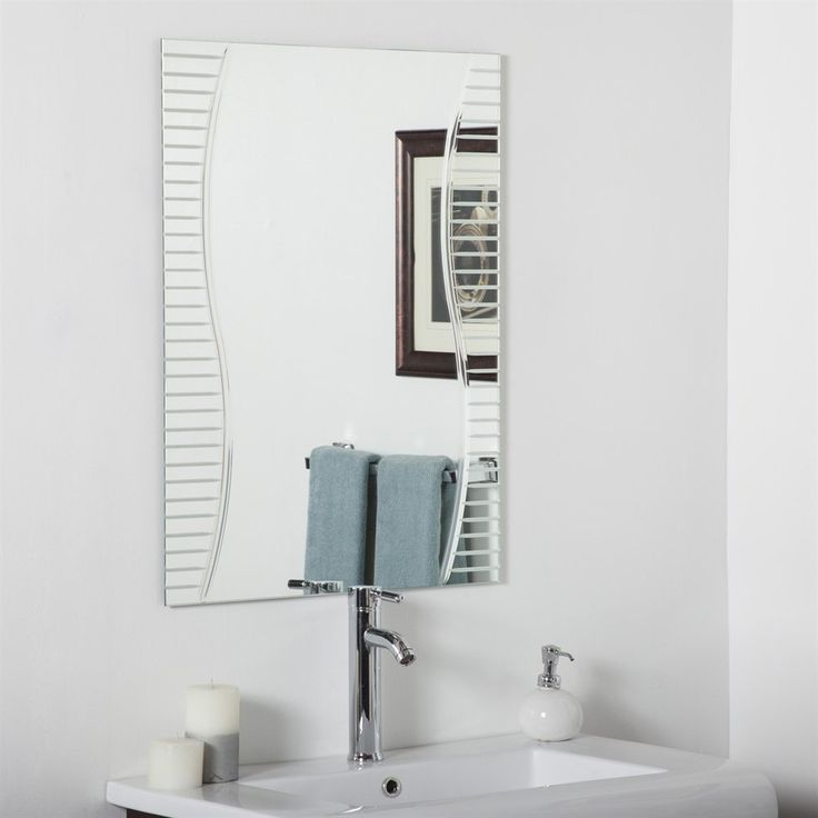 Best Photo Gallery For Website Decor Wonderland SSM Ava Modern Bathroom Mirror Lowe us Canada