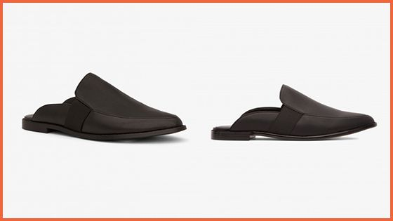 The Begonia Loafer in Blackfrom the Sleek City Collectino is the vegan slip on shoe you've been waiting for!