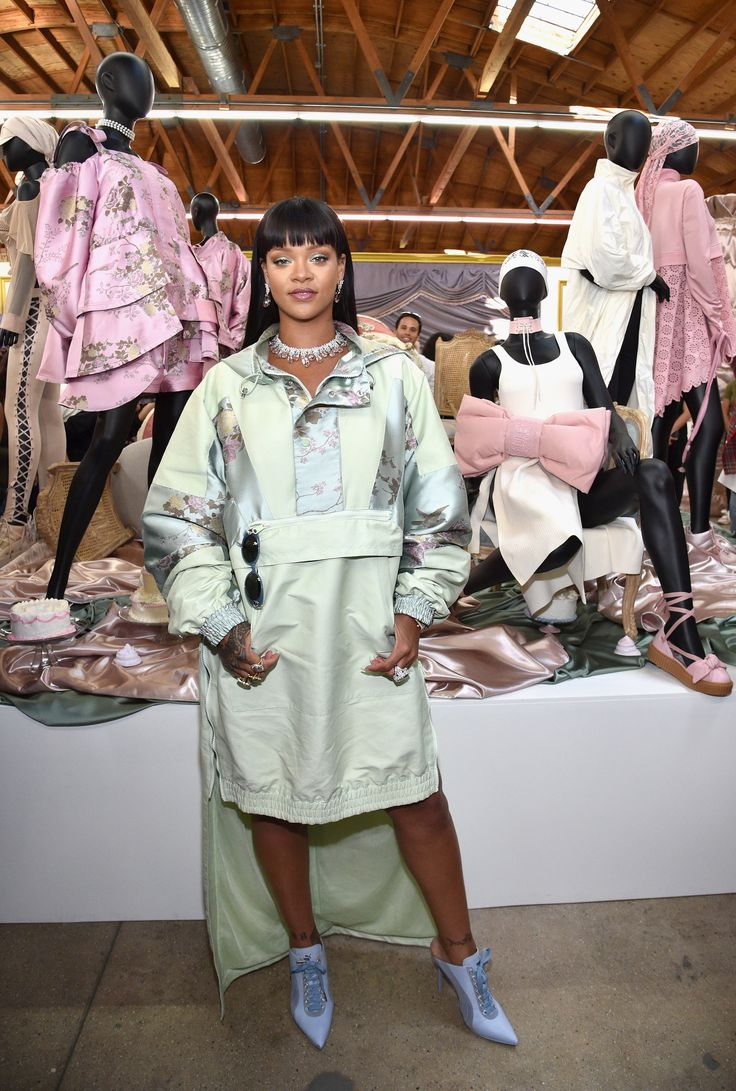 10 Best Dressed: Week of April 24, 2017 Rihanna