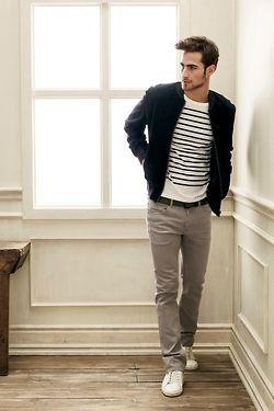 grey pants white converse outfit - Google Search