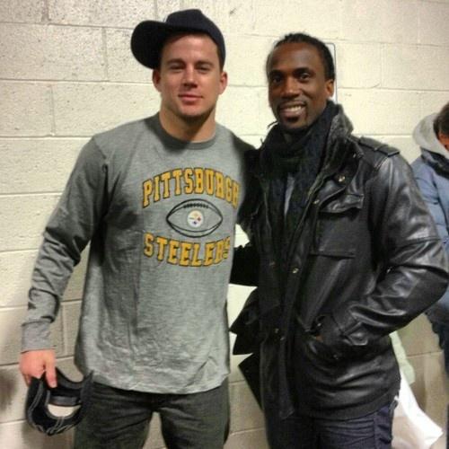Channing Tatum...he looks even better in Steelers gear !!!