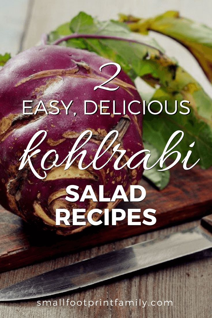 Kohlrabi is probably the best vegetable you've never had. Here are two simple kohlrabi recipes to help you get the most out of this odd little vegetable.    #paleo #paleodiet #glutenfree #dairyfree #vegan #vegetarian  #rawvegan #recipe #grainfree #realfood #salad #gardentotable