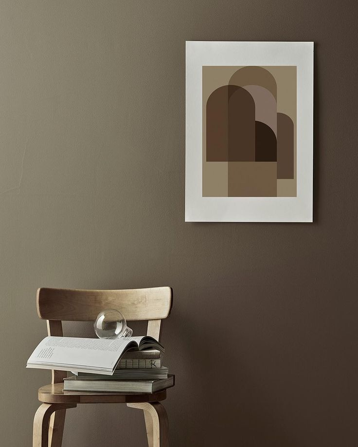 Chair 69 by Alvar Aalto from Artek | Shop the print at THE POSTER CLUB