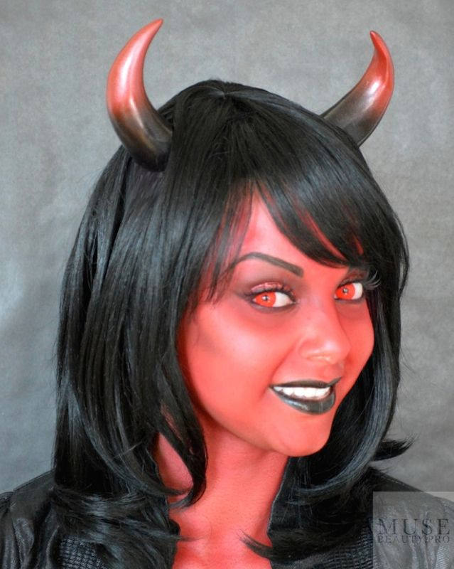 Art, News & Lipstick | HOW TO: CREATE A SHE DEVIL ...