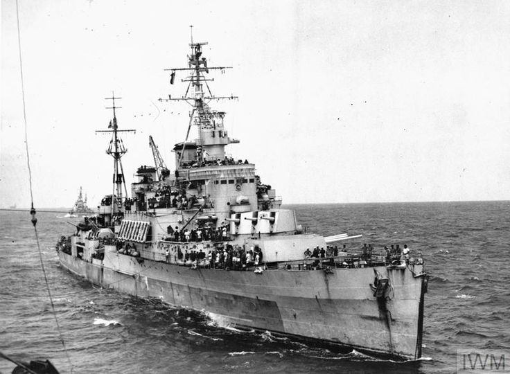HMS Uganda (66) was a Crown Colony-class light cruiser of the British Royal Navy launched in 1941.