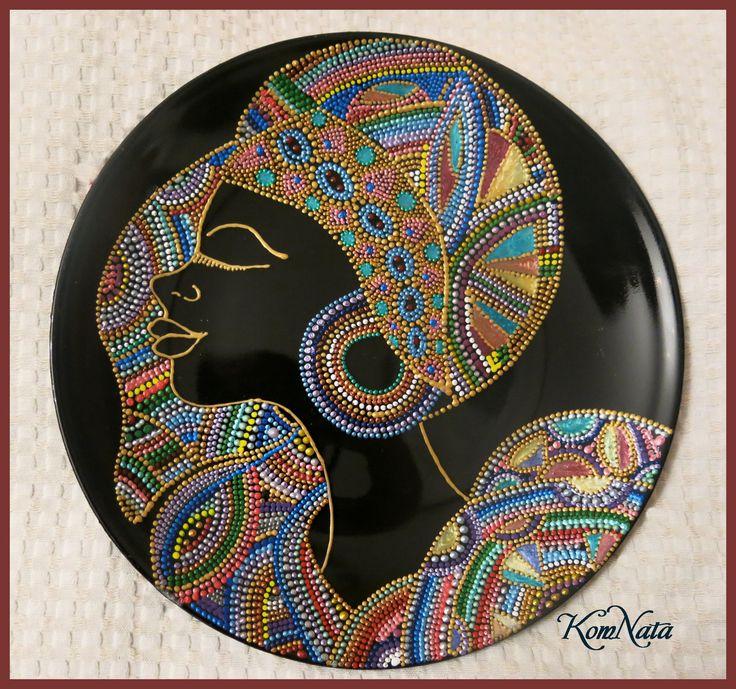 Тарелка Африка