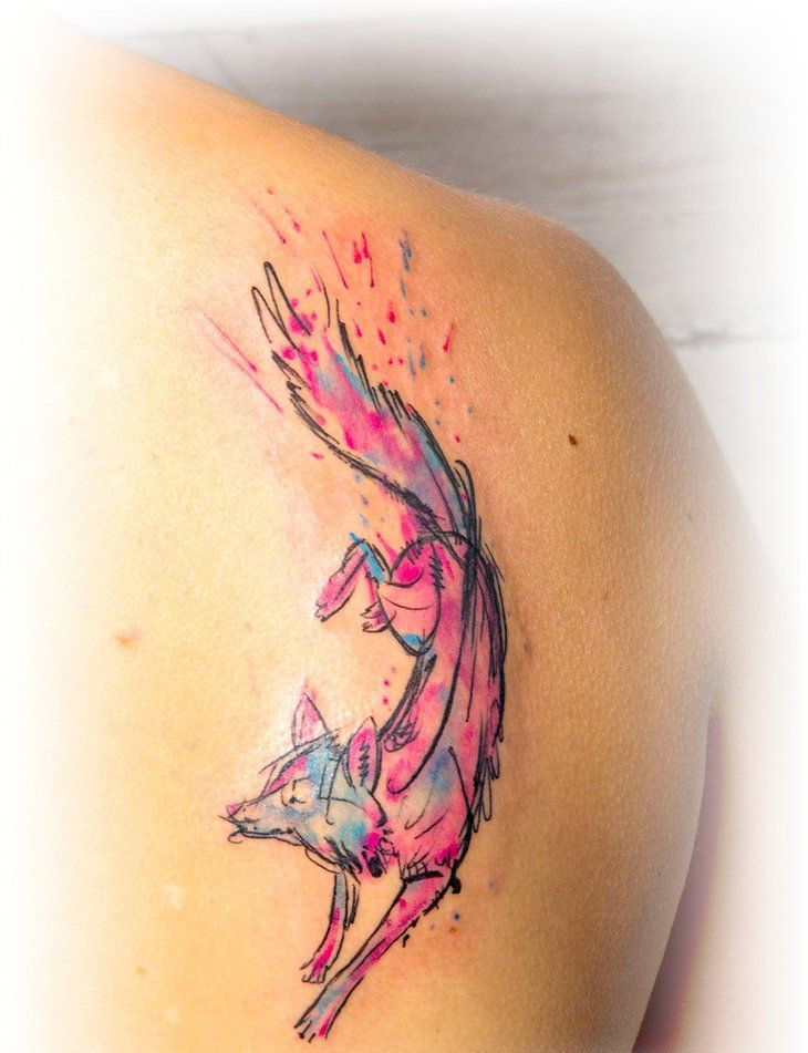 Watercolor Tattoos, Designs And Ideas : Page 7