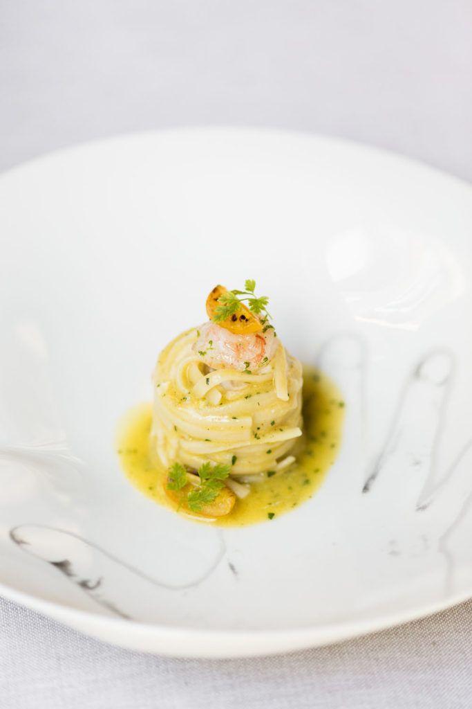 Linguine Burrata Pomodoro Giallo Scampo E Lime Cucina Vini Ricetta Nel 2020 Ricette Bastoncini Sani Ricette Linguine