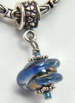 the velvet box rainforest blue charm troll beadsthe beads