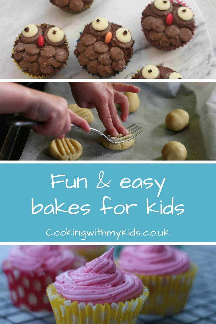 Easy Baking Recipes For Kids In 2020 Baking Recipes For Kids