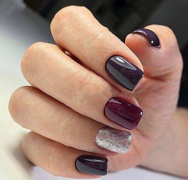 55 Trendy Fall Dip Nails Designs Ideas That Make You Want To Copy Burgundy Nail Designs Burgundy Nails Winter Nail Designs
