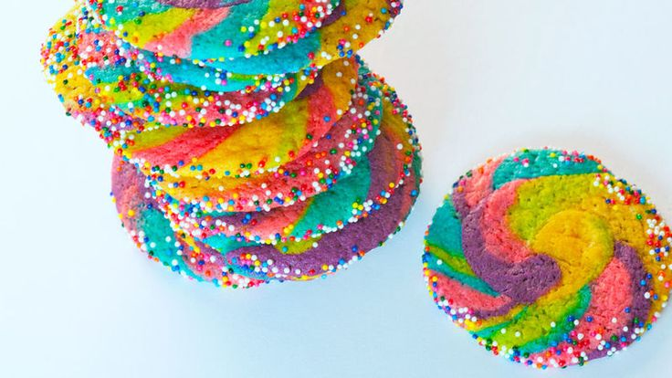 The super-easy method behind these colorful swirled cookies will take your sugar cookie game to a whole new level!