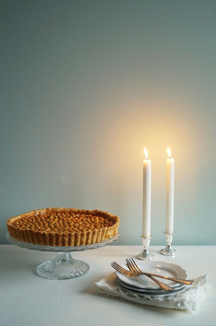 Zoetigheid // Een nieuwe start en hazelnoten karamel taart // 03-01-2015 // Kookmeisje