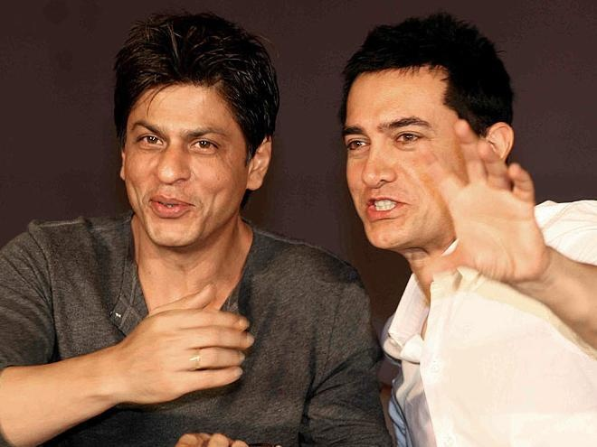Shahrukh and Aamir Khan