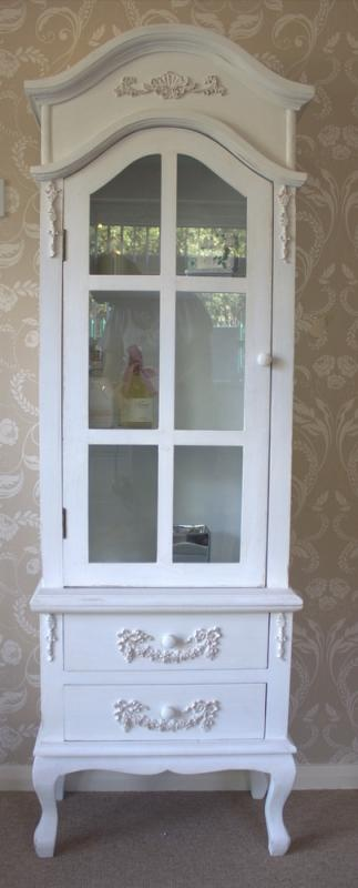 French Style Display Cabinet With Drawers Bathroom Or