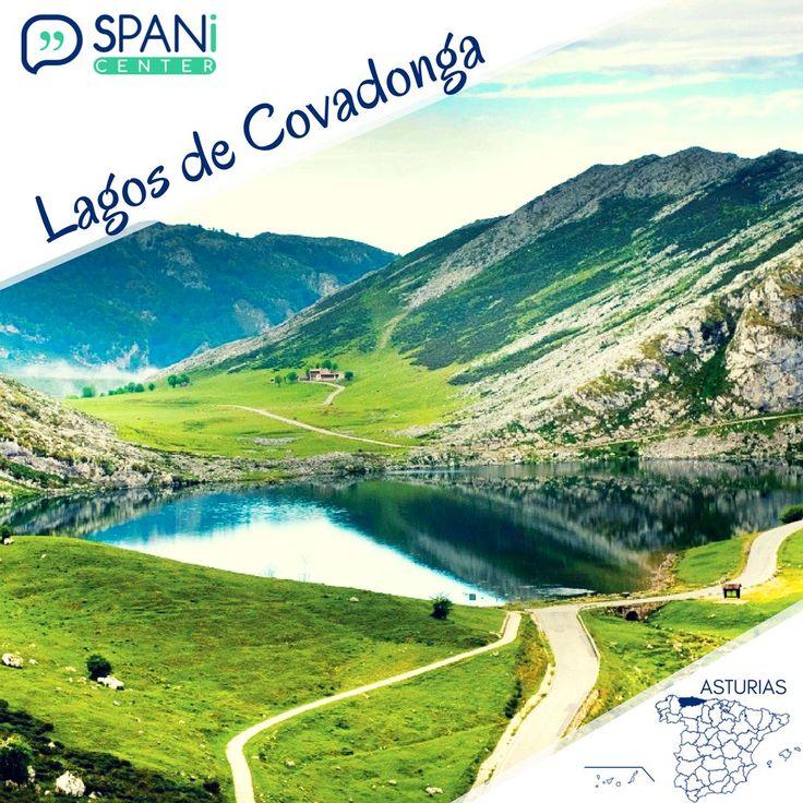 Subir con buen tiempo a los Lagos de Covadonga es un regalo para la vista, ¿habéis visitado Asturias? #LearnSpanish #Spanish #DiscoverSpain