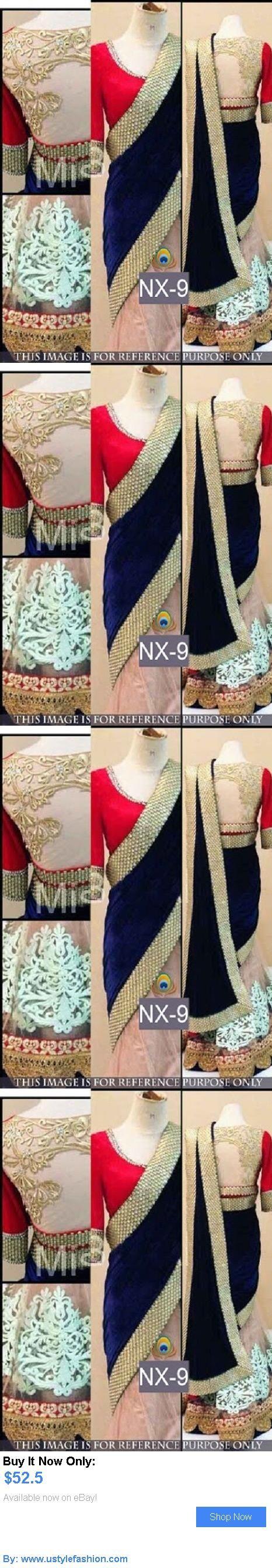 Cultural and ethnic clothing: Designer Party Wear Wedding Indian Pakistani Saree Sari Bollywood Ethnic Lehenga BUY IT NOW ONLY: $52.5 #ustylefashionCulturalandethnicclothing OR #ustylefashion