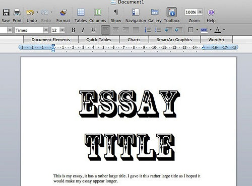 Make my essay
