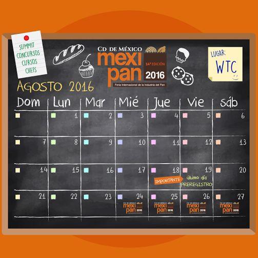 La cuenta regresiva continúa: Tienes hasta el 19 de agosto para hacer tu preregistro para #Mexipan2016 http://www.mexipan.com.mx  #mexipan #expo #expo2016 #cuentaregresiva #countdown #pan #panadero #panadería #postre #chef #repostería