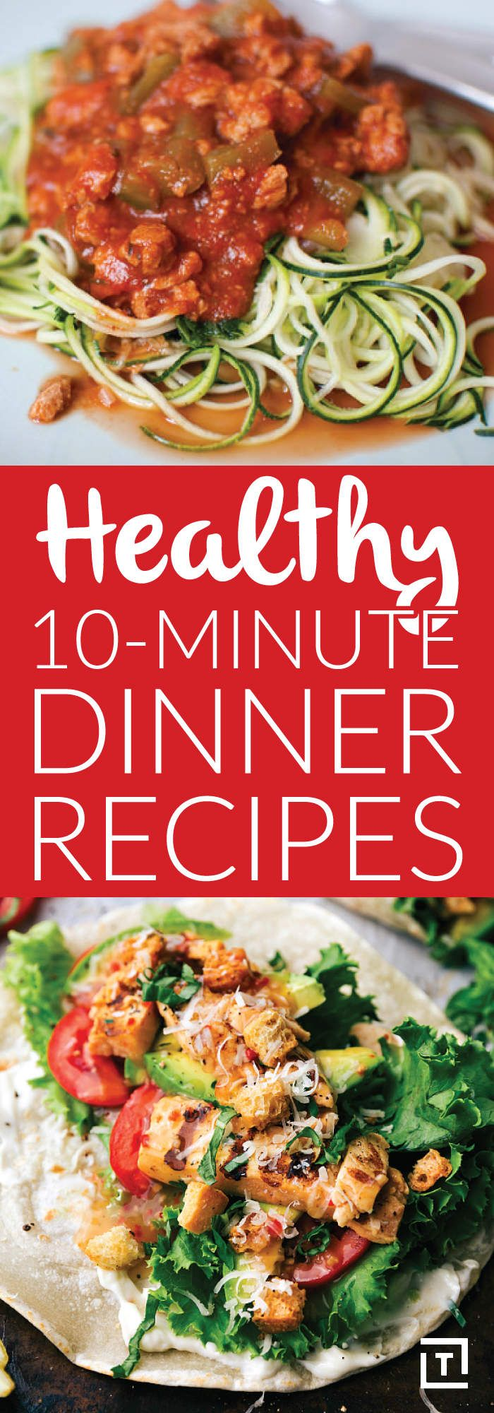 Healthy 10-Minute Dinner Recipes