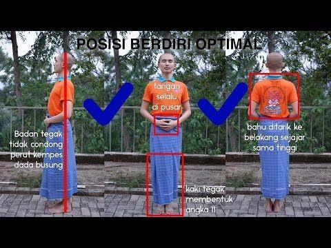 Asyik Bervipassana #03 - Meditasi Berdiri | Y.M. Bhikkhu Gunasiri