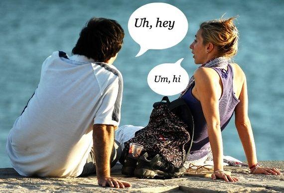 She said hi and he said hello.. She said goodbye he said hello hello hello