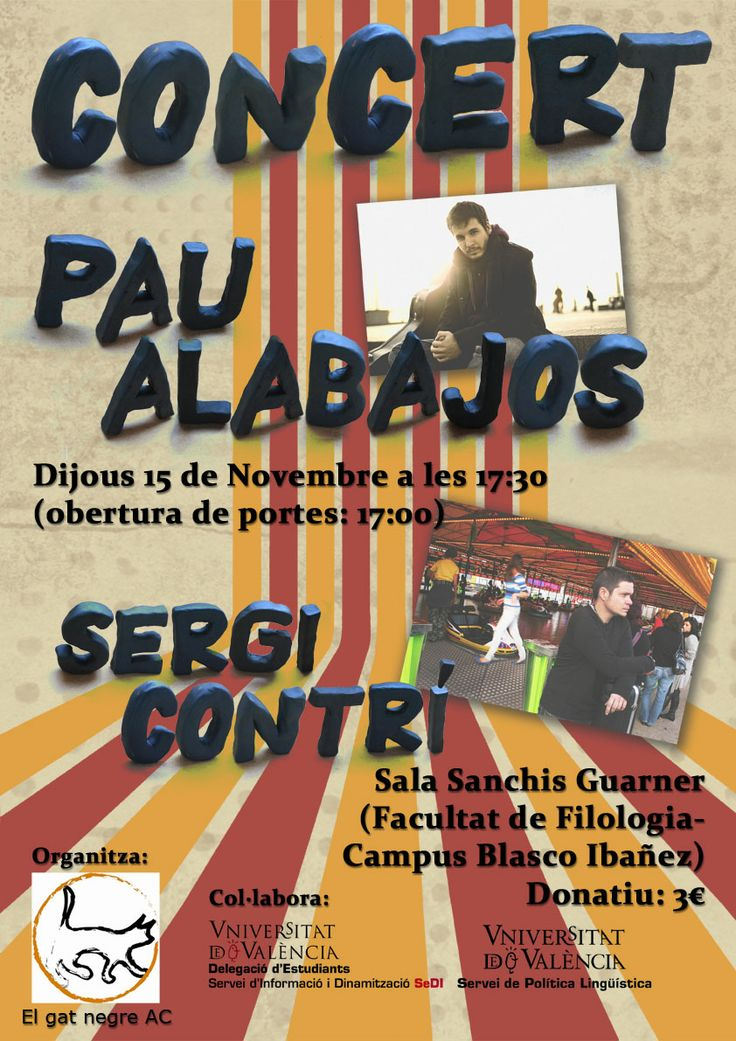 Concert Pau Albajos y Sergi Contrí. El Gat Negre.