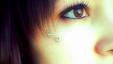 50+ Anti Eyebrow Piercing Images, Pain, Care, Healing, Rejection, Price nice