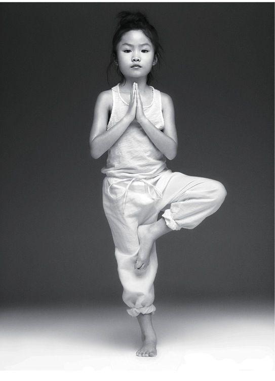 little yoga. for estelle.