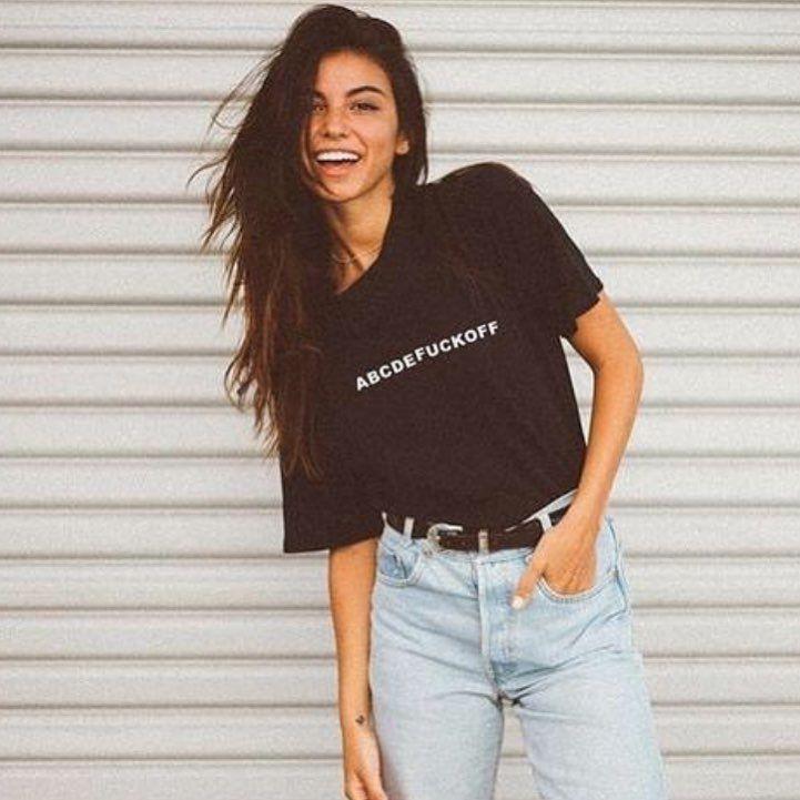 Instagram Da Twist Shout T Shirt Modeli Bio Kismindaki Linkte Mevcuttur Abcdefuckoff Olarak Aratabilir Ladies Tops Fashion Womens Shirts Yeezus Clothing