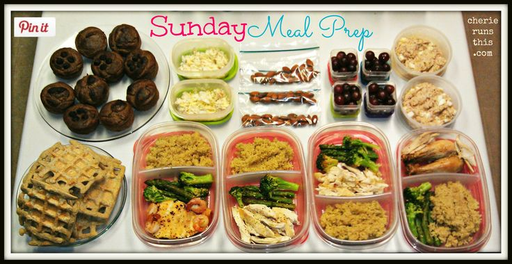 How to Meal Prep Like a Champ - real information on how meal to efficiently prep for the week, as well as some yummy looking clean treat recipes.