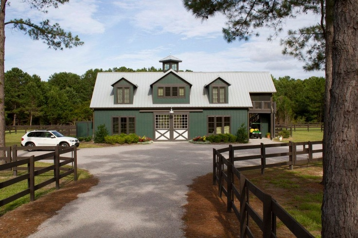 Morton Buildings equestrian facility in North Carolina.