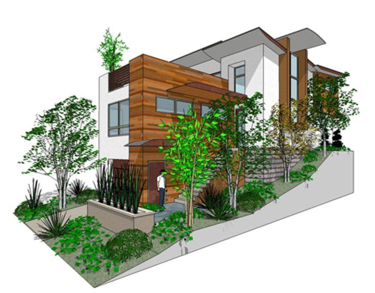 158 Best Beach House Narrow Lot Plans Images On Pinterest Modern Houses Modern Contemporary