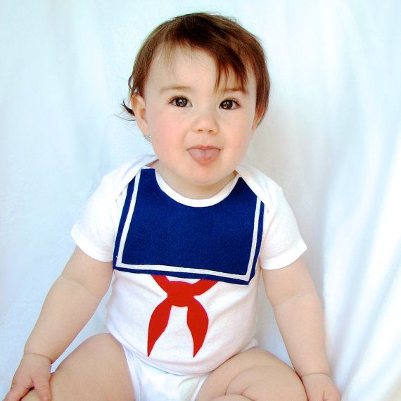 Stay Puft Baby Costume  Halloween Sailor by TheWishingElephant, $22.00